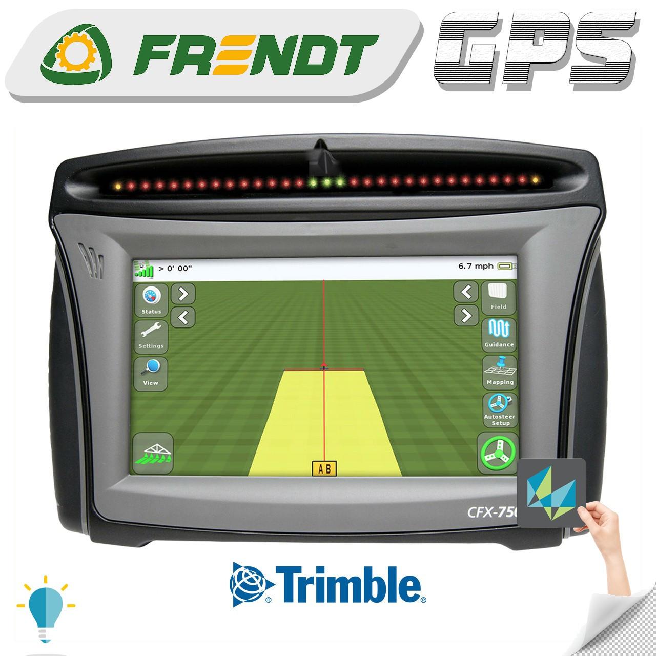 Gps навігатор для трактора (навігатор для поля, сільгосп навігатор) Trimble CFX 750