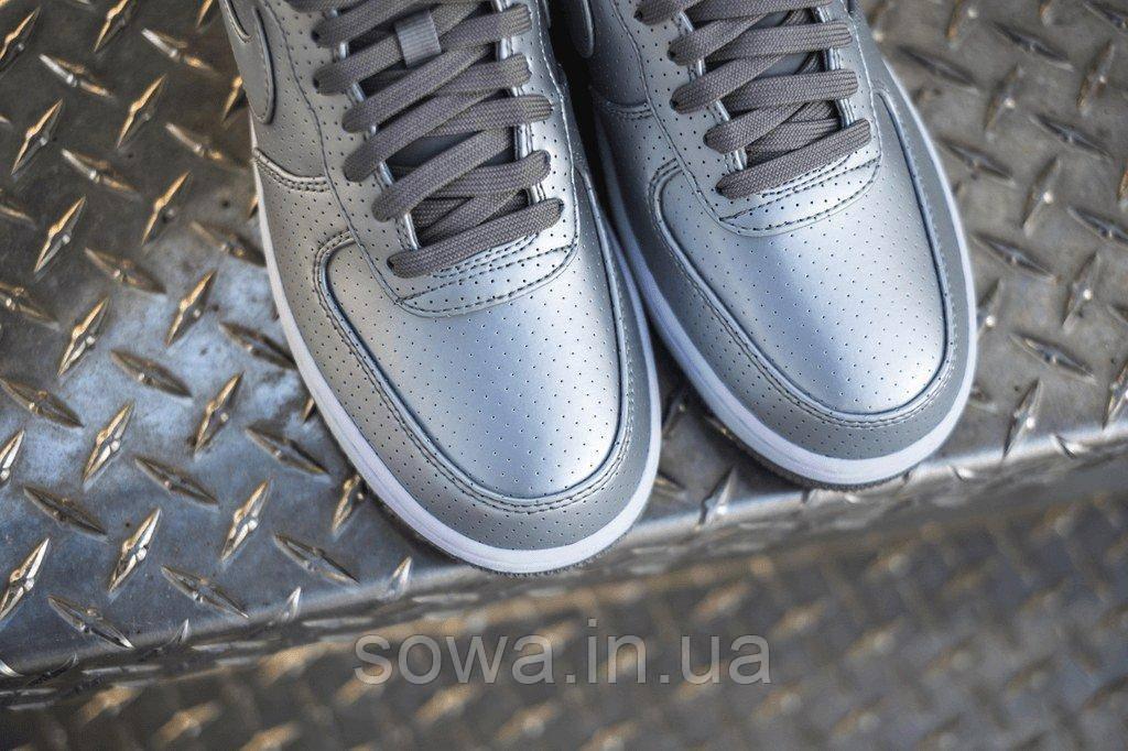 "✔️ Кроссовки Nike Air Force 1 07 LV8 ""Dream Team-Metallic Silver"""