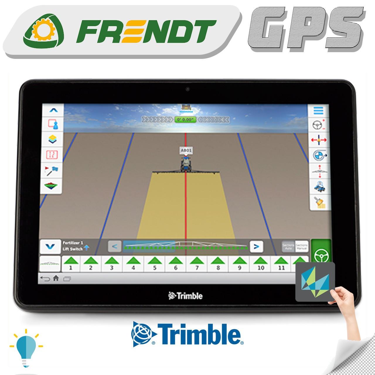 Gps навігатор для трактора (навігатор для поля, сільгосп навігатор) Trimble TMX 2050