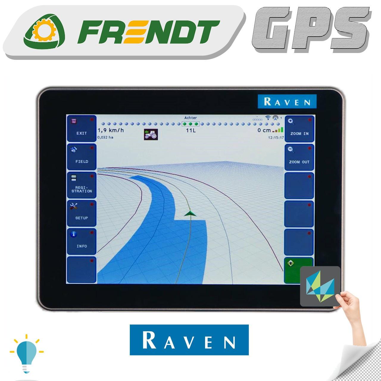Gps навігатор для трактора (навігатор для поля, сільгосп навігатор) RAVEN viper 4