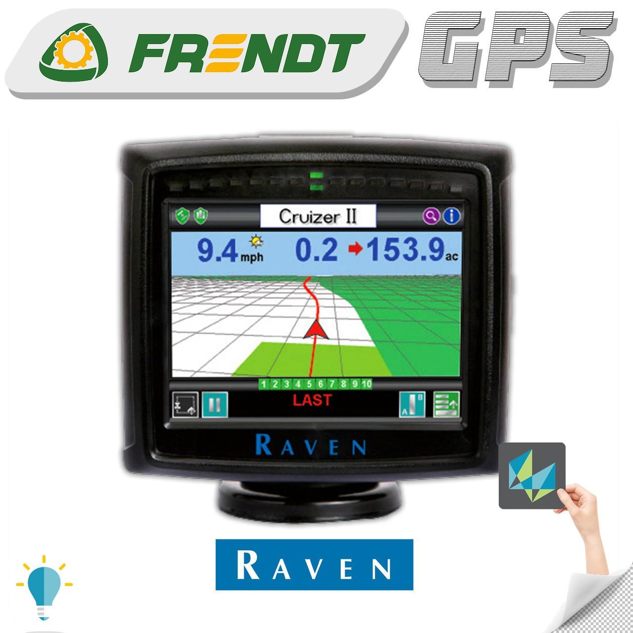 Gps навігатор для трактора (навігатор для поля, сільгосп навігатор) RAVEN Cruizer II