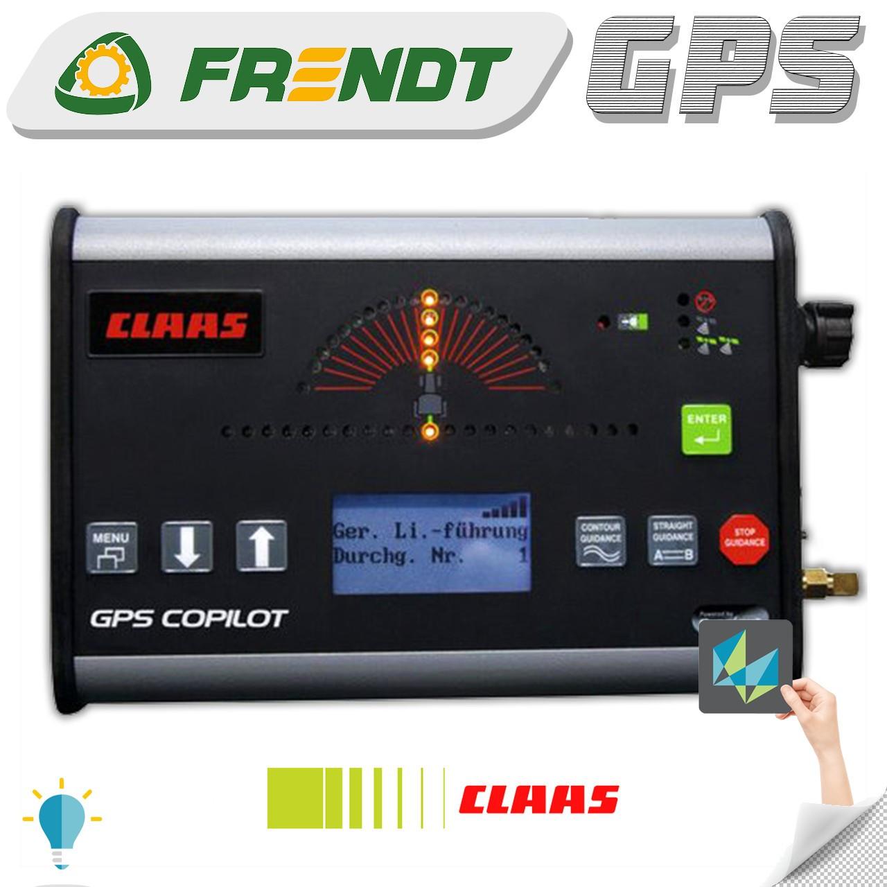 Gps навігатор для трактора (навігатор для поля, сільгосп навігатор) CLAAS Copilot S-lite