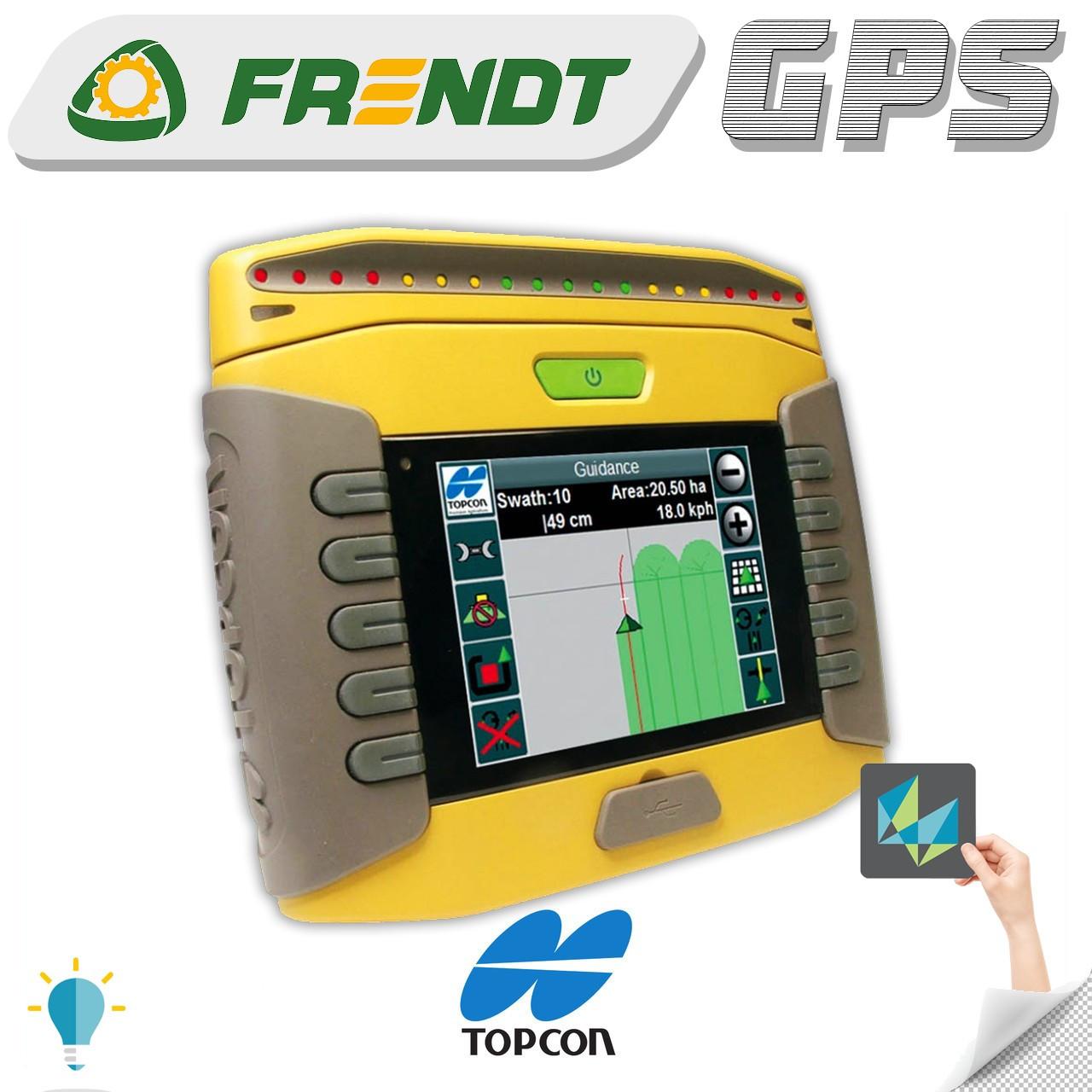 Gps навігатор для трактора (навігатор для поля, сільгосп навігатор) TOPCON GX45