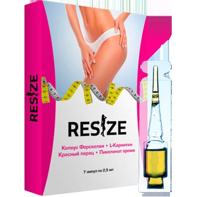 Resize - комплекс для похудения - ампулы , фото 1