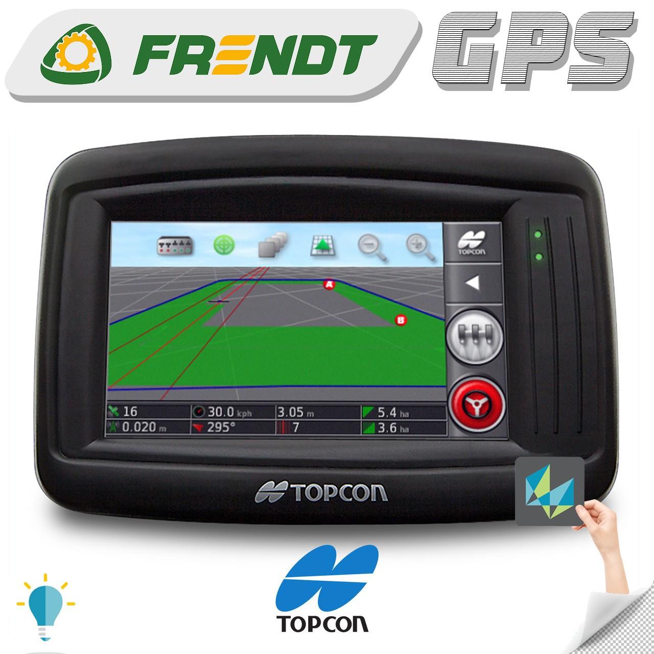 Gps навігатор для трактора (навігатор для поля, сільгосп навігатор) TOPCON x14