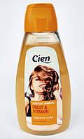 Шампунь женский для сухих и поврежденных волос с папайей Cien Shampoo women