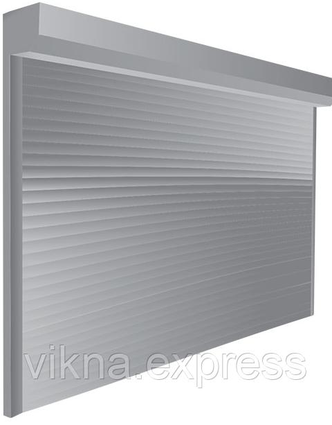 Роллетные ворота  Steko PD/77, управление механическое