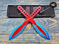 Набор метательных ножей Капитан Америка 2в1