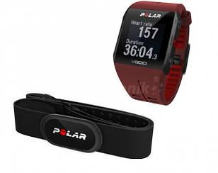 Спортивні годинник Polar V800 HR Red