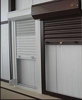 4 дня! Изготовление! Защитные Роллеты на окна 800*1200 белый, коричневый, серый цвет.