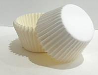 Тарталетка бумажная для капкейков белая 7а, d=50мм. h=30мм (упаковка 10 шт)