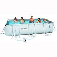 Прямоугольный каркасный бассейн, размером 404х201х100 см