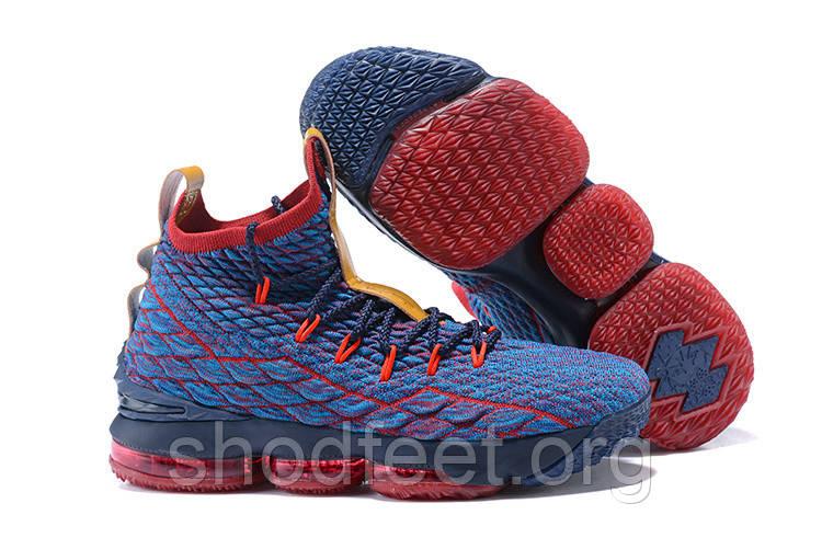 online store a9441 e456f Мужские баскетбольные кроссовки Nike Lebron XV New Heights Cavs - Bigl.ua