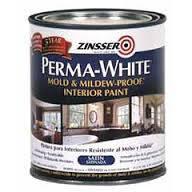 Краска для влажных помещений Zinsser Perma-White 3.7л