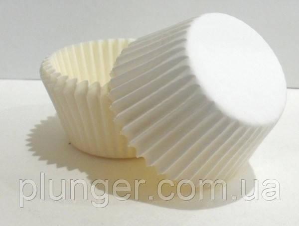 Тарталетка бумажная для капкейков белая 7а, d=50мм. h=30мм (упаковка 1134 шт)