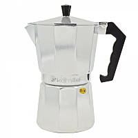 Кофеварка из алюминия 450мл  2502 магазин кофеварок Украина