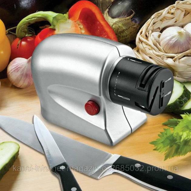 Универсальная электрическая точилка для ножей и ножниц Knife Shaper ,Точилка электрическая универсальная