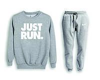 Мужской спортивный костюм, чоловічий костюм (свитшот+штаны) Nike S614, Реплика