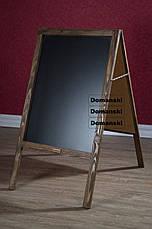 Штендер, рекламная доска, меловая, мимоход, спотыкач,, фото 3