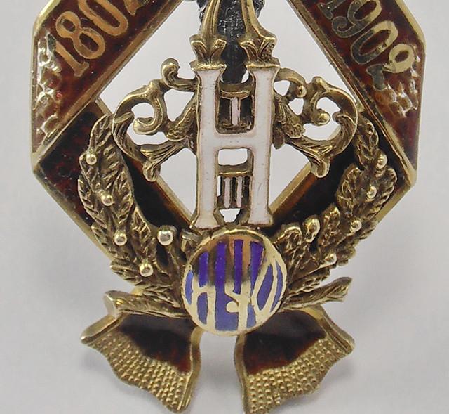 Юбилейный знак Императорского Человеколюбивого общества, Копия,орден российской империи