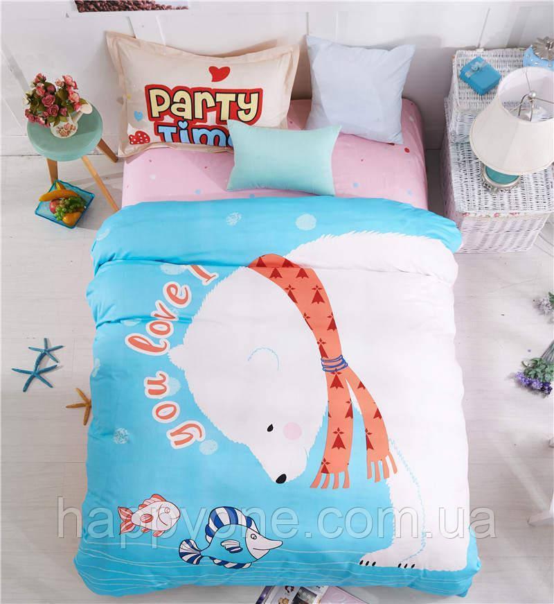 Комплект постельного белья Polar Bear Fisher (полуторный)