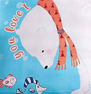 Комплект постельного белья Polar Bear Fisher (полуторный) , фото 2