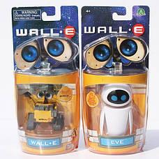 Комплект 2шт фигурок Валл-и и Ева. Игрушки по знаменитому мультику ВАЛЛ-И., фото 3