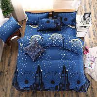 Комплект постельного белья Night City (полуторный) , фото 1