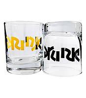 """Набор стаканов для виски """"Drunk"""" (2x270 мл)"""
