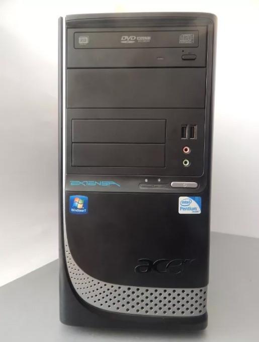 Системный блок, компьютер Acer E470 проц. E6700 3,20 ОЗУ 4 ГБ HDD 160 ГБ