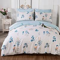 Комплект постельного белья Blue bird (полуторный) , фото 1