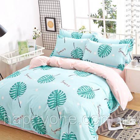 Комплект постельного белья Tropical leaves (полуторный)