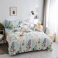Комплект постельного белья Flamingos in Herbs (полуторный) , фото 1
