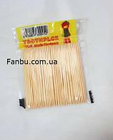 Зубочистки дешевые(Китай) 1 упаковка 95-100штук, фото 1