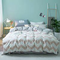 Комплект постельного белья Zigzag (полуторный) , фото 1