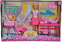 """Кукольный набор Штеффи """"Замечательная опека с тремя малышами и аксессуарами"""" (5733212)"""