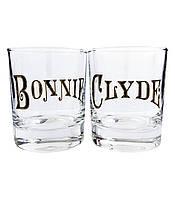"""Набор стаканов для виски """"Bonnie и Clyde"""" (2x270 мл)"""