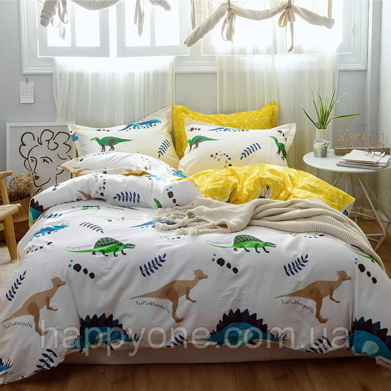 Комплект постельного белья Динозавры (полуторный)