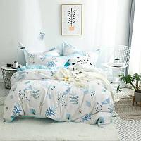 Комплект постельного белья Голубая птичка (полуторный), фото 1