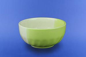 Салатник бело-салатовый