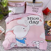 Комплект постельного белья Слон (полуторный), фото 1