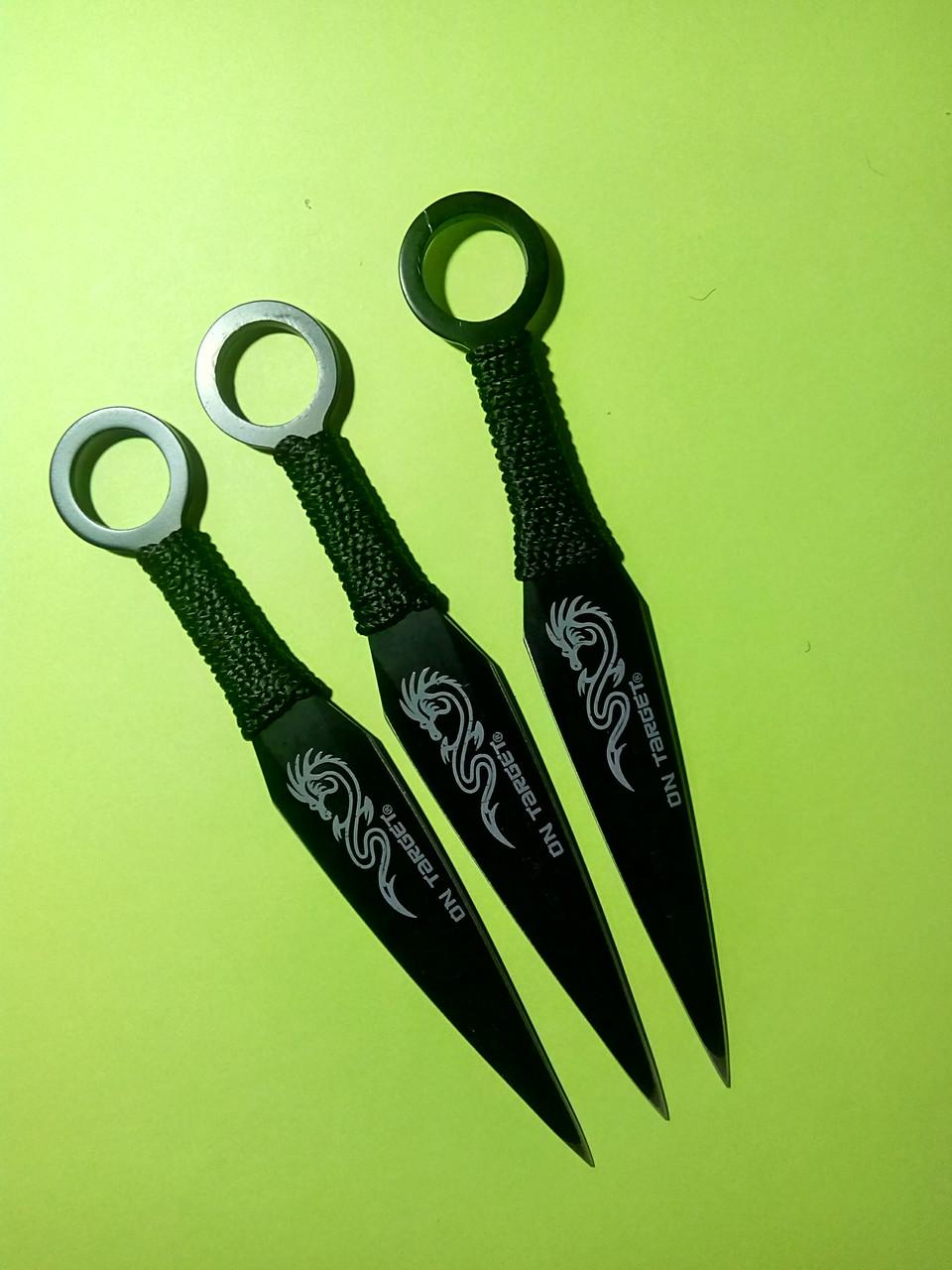 Ножи метательные, специальные. Кунай 3 в 1