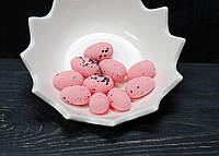 Яйца розово-кораловые пенопласт 10 шт