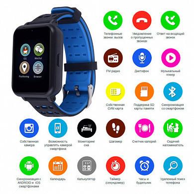 Наручные умные Smart часы Z2 телефон, камера, блютуз, плеер