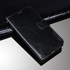 Чехол Idewei для Samsung Galaxy M20 книжка кожа PU черный