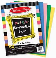 Цветная бумага для аппликаций Melissa & Doug Multi-Color Construction Paper (MD4111)