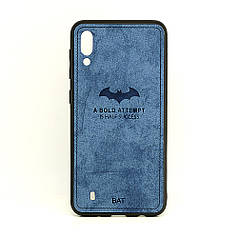 Чехол BAT для Samsung Galaxy M10 бампер синий