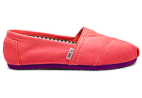 Женские TOMS Coral Denim Canvas Women's Classics , фото 1