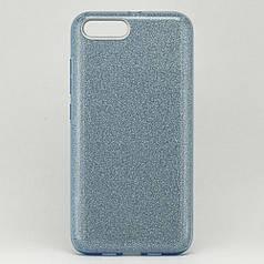 Чехол Shining для Xiaomi Mi 6 Бампер блестящий голубой