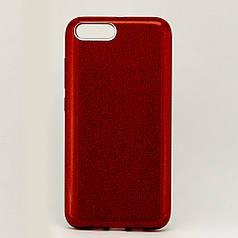 Чехол Shining для Xiaomi Mi 6 Бампер блестящий красный